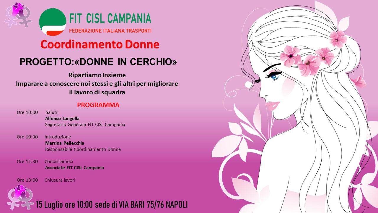 """Progetto """"Donne in Cerchio"""""""